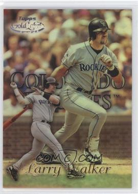 1999 Topps Gold Label Class 3 Black #45 - Larry Walker