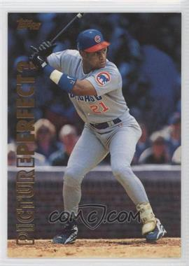 1999 Topps Picture Perfect? #P6 - Sammy Sosa