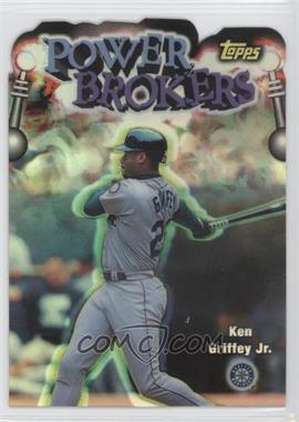 1999 Topps Power Brokers Refractor #PB3 - Ken Griffey Jr.