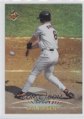 1999 Topps Stadium Club Chrome Refractors #SCC14 - Cal Ripken Jr.
