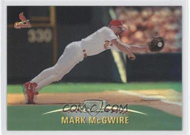1999 Topps Stadium Club Chrome Refractors #SCC27 - Mark McGwire