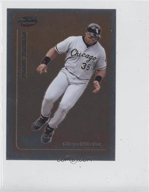 1999 Topps Super Chrome Jumbos #28 - Frank Thomas