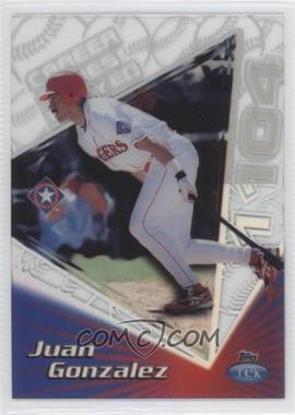 1999 Topps Tek - [Base] - Pattern 27 #41A - Juan Gonzalez