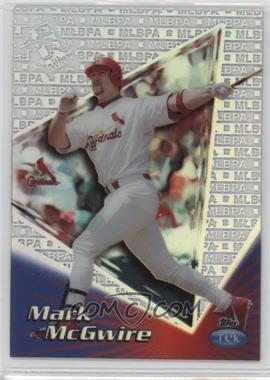 1999 Topps Tek - [Base] - Pattern 29 #7A - Mark McGwire