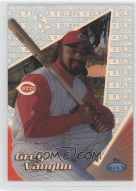 1999 Topps Tek Pattern 29 #21A - Greg Vaughn