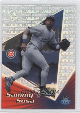1999 Topps Tek Pattern 29 #6B - Sammy Sosa