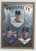 A.J. Burnett, Billy Koch, John Nicholson