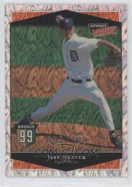 1999 Ultimate Victory Ultimate Collection #127 - Jeff Weaver /100
