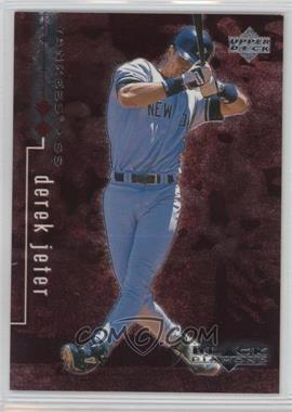 1999 Upper Deck Black Diamond - [Base] - Double Diamond #56 - Derek Jeter /3000