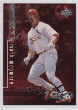 1999 Upper Deck Black Diamond - [Base] - Double Diamond #80 - Mark McGwire /1998
