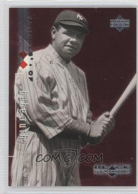 1999 Upper Deck Black Diamond Double Diamond #90 - Babe Ruth /3000