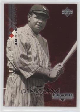 1999 Upper Deck Black Diamond Double Diamond #90 - Babe Ruth /3000