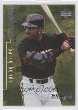 1999 Upper Deck Black Diamond Triple Diamond #73 - Barry Bonds /1500