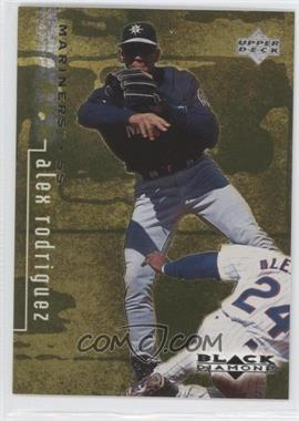 1999 Upper Deck Black Diamond Triple Diamond #77 - Alex Rodriguez /1500