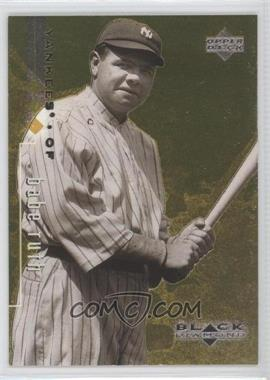 1999 Upper Deck Black Diamond Triple Diamond #90 - Babe Ruth /1500