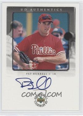 1999 Upper Deck Encore [???] #PB - Pat Burrell