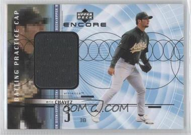 1999 Upper Deck Encore Batting Practice Caps #C-EC - Eric Chavez