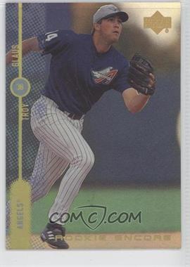 1999 Upper Deck Encore Rookie Encore FX Gold #R6 - Troy Glaus /500