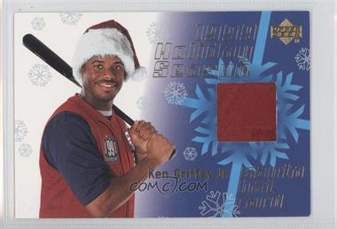 1999 Upper Deck Holiday Season Santa Hat Relic #1 - Ken Griffey Jr.