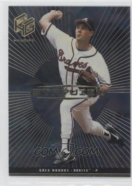 1999 Upper Deck HoloGrFX - Starview - Gold #S6 - Greg Maddux