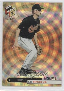 1999 Upper Deck HoloGrFX AuSOME #10 - Cal Ripken Jr.