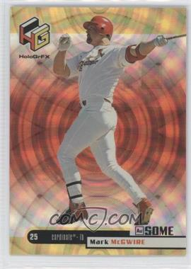 1999 Upper Deck HoloGrFX AuSOME #48 - Mark McGwire