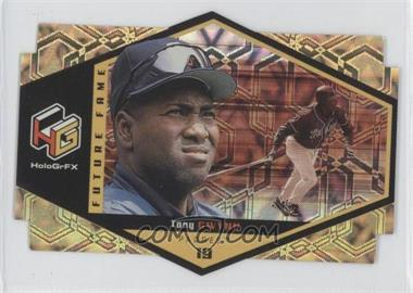 1999 Upper Deck HoloGrFX Future Fame Gold #F1 - Tony Gwynn