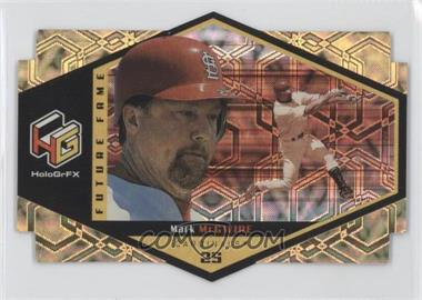 1999 Upper Deck HoloGrFX Future Fame Gold #F3 - Mark McGwire