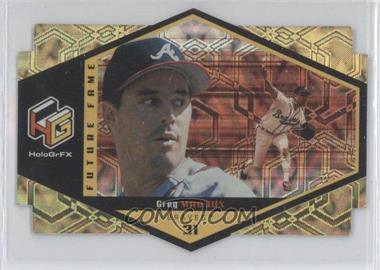 1999 Upper Deck HoloGrFX Future Fame Gold #F5 - Greg Maddux
