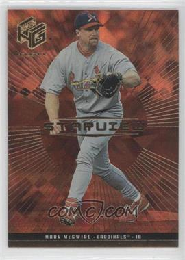 1999 Upper Deck HoloGrFX Starview Gold #S1 - Mark McGwire
