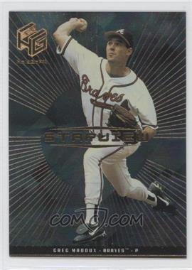 1999 Upper Deck HoloGrFX Starview Gold #S6 - Greg Maddux
