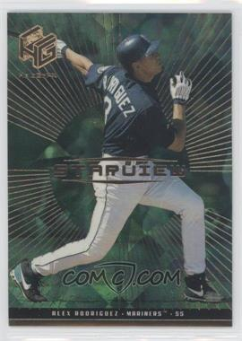 1999 Upper Deck HoloGrFX Starview Gold #S8 - Alex Rodriguez