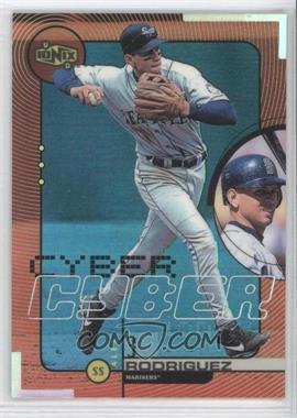 1999 Upper Deck Ionix Cyber #C6 - Alex Rodriguez