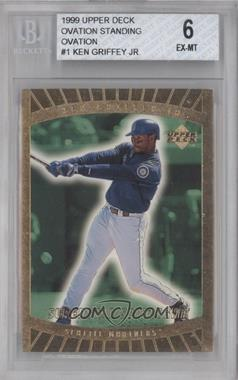 1999 Upper Deck Ovation - [Base] - Standing Ovation #81 - Ken Griffey Jr. /500 [BGS 6]