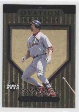 1999 Upper Deck Ovation [???] #S2 - Mark McGwire
