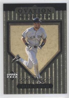 1999 Upper Deck Ovation Major Production #S16 - Derek Jeter