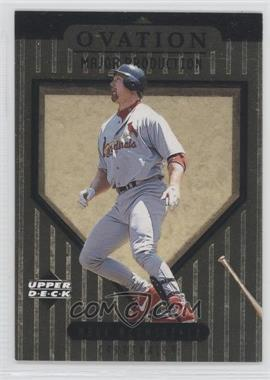 1999 Upper Deck Ovation Major Production #S2 - Mark McGwire