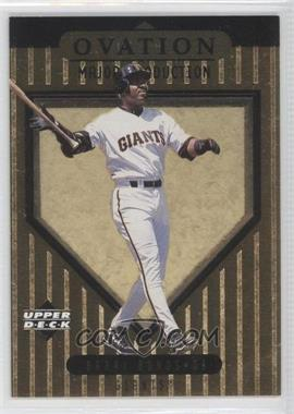 1999 Upper Deck Ovation Major Production #S6 - Barry Bonds