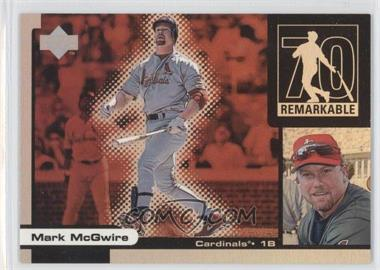 1999 Upper Deck Ovation Remarkable Moments #M15 - Mark McGwire