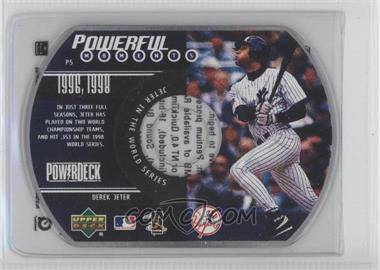 1999 Upper Deck Powerdeck - Powerful Moments - CD-ROM #P5 - Derek Jeter