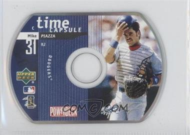 1999 Upper Deck Powerdeck Time Capsule CD-ROM #R2 - Mike Piazza