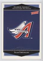 Anaheim Angels Team
