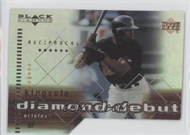 2000 Black Diamond Reciprocal Cut #R103 - Gene Kingsale