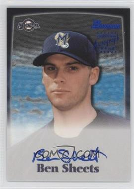 2000 Bowman Autographs #BS - Ben Sheets