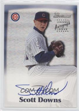 2000 Bowman Autographs #SD - Scott Downs