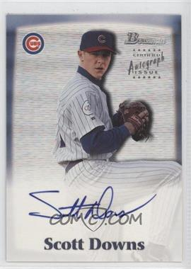 2000 Bowman Autographs #SD - Scott Downs
