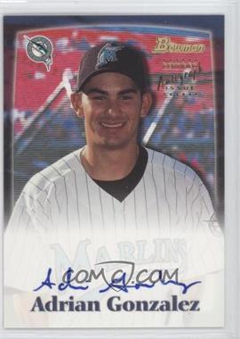 2000 Bowman Draft Picks & Prospects - Autograph #BDPA20 - Adrian Gonzalez