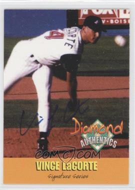 2000 Diamond Authentics Autographs #19 - Vince LaCorte /3250