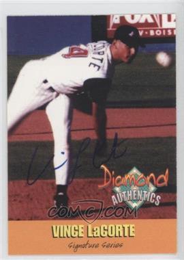 2000 Diamond Authentics Autographs #19 - Vince LaCorte /3250