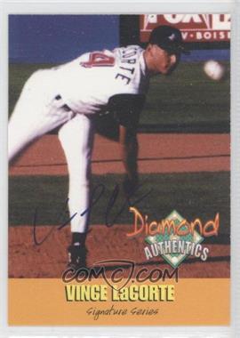 2000 Diamond Authentics Autographs #No. #19 - Vince LaCorte /3250